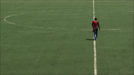 ladies turn pelouse stade football