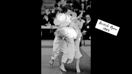 jane bridge prise judoka